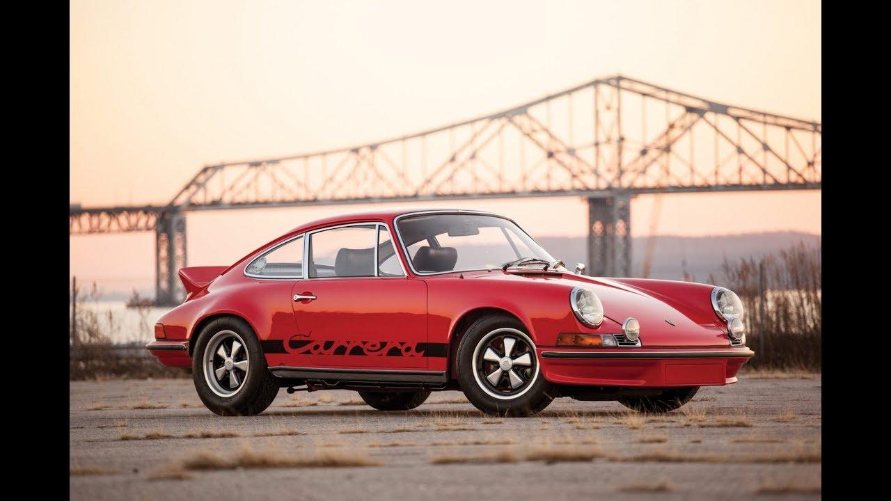891 000 1973 Porsche 911 Carrera Rs 2 7 Touring Youtube