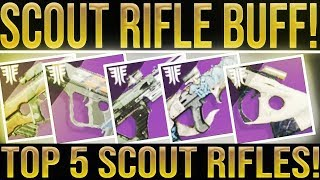 Destiny 2 Forsaken. TOP 5! Best Scout Rifles To Use After This Week's Scout Rifle Buff. Update 2.0.4