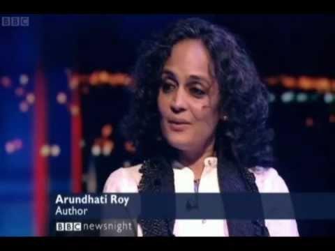 Newsnight's Jeremy Paxman interviews Arundhati Roy.wmv