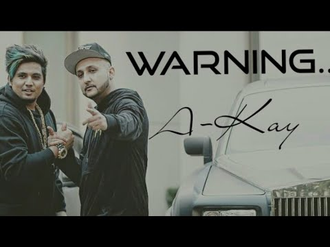 Warning (FULL SONG) A-Kay • Snappy • A-Kay  New Latest Punjabi Song 2017 • Studio Video HD