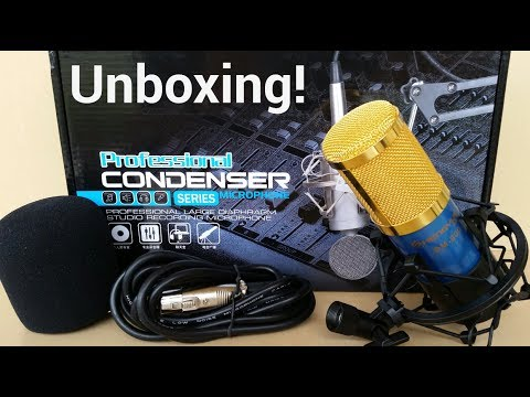 Shengyue BM-800 Condenser Microphone - Unboxing!