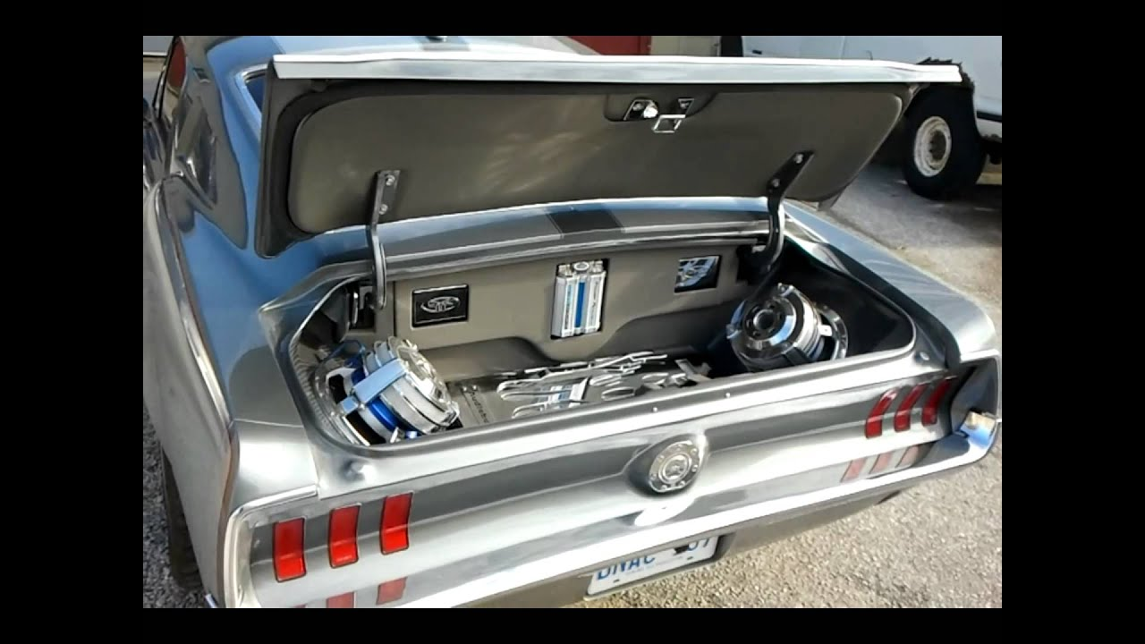 1968 Mustang Fastback - YouTube