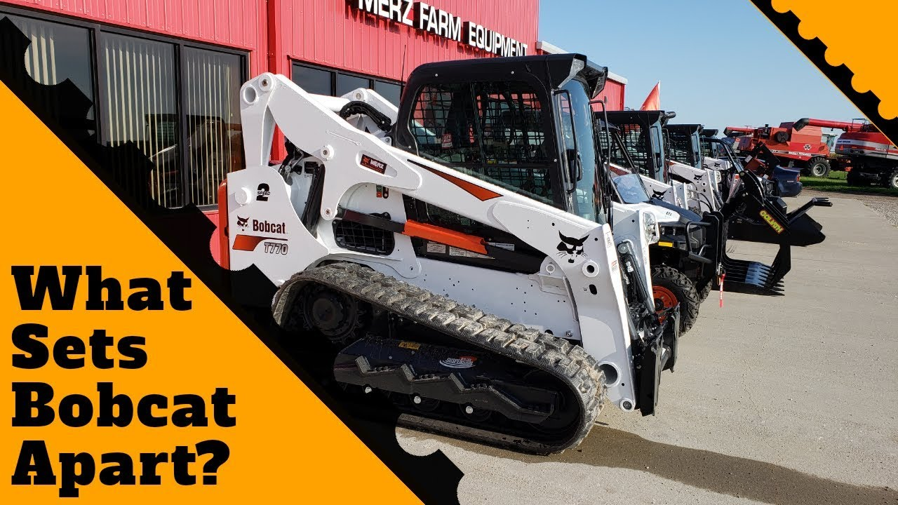 What Sets Bobcat Apart? Bobcat Features like 2 Speed, Backup Camera & Cab  Display