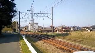 JR四国8000系アンパンマン列車/予讃線伊予桜井駅。