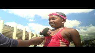 Zambia, ZKids News, Swimming