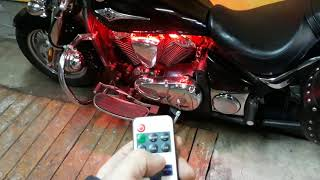 Подсветка с пульта от Motolight