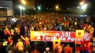 Carreata de Robinson e Fabrício Torquato - Pau dos Ferros - TV Neon