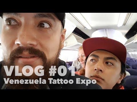 Venezuela Tattoo Expo   Vlog #01