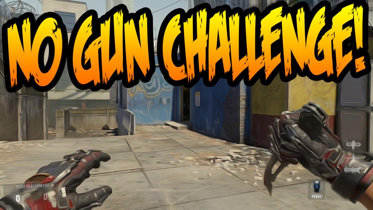 No gun challenge advanced warfare youtube