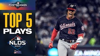 Juan Soto, Howie Kendrick and more! | Top Moments from Epic Dodgers-Nationals NLDS!