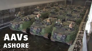 AAVs Splash in Ship-to-Shore