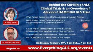 Behind the Curtains of ALS Clinical Trials by  Alexion Pharmaceuticals