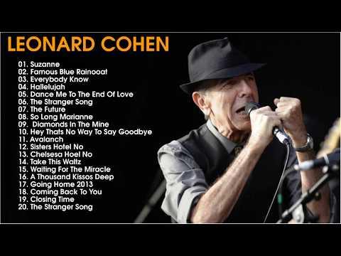 Leonard Cohen Greatest Hits Cover 2017   Leonard Cohen Collection