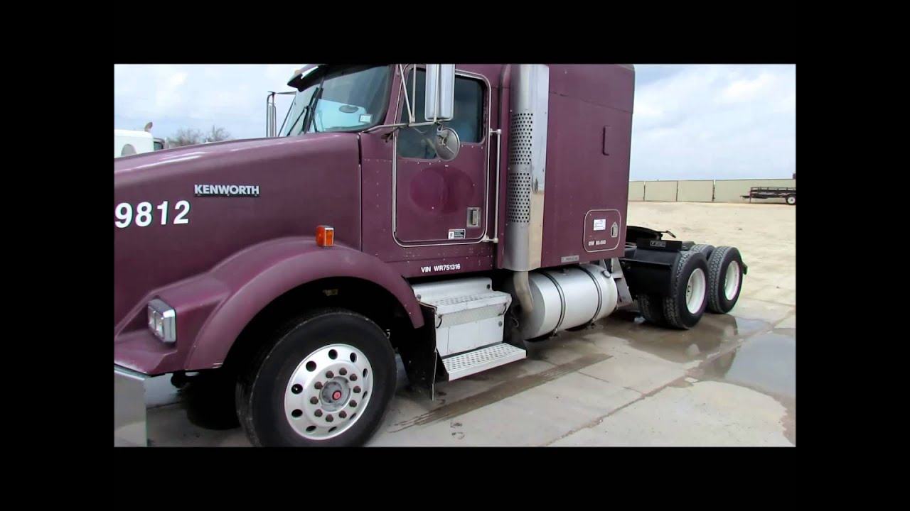1998 kenworth t800 semi truck for sale sold at auction february 19 2013 [ 1280 x 720 Pixel ]