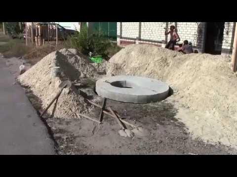 Как сделать переливной канализационный колодец