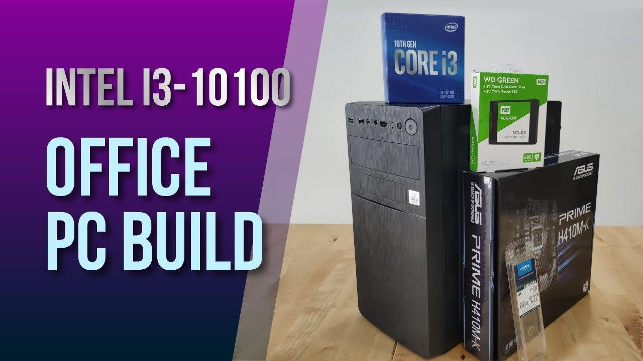 Build Bộ máy tính Văn Phòng H410M i3-10100