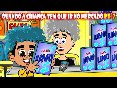 Jooj Natu _ QUANDO A CRIANÇA TEM QUE IR NO MERCADO PT. 7 (animação)