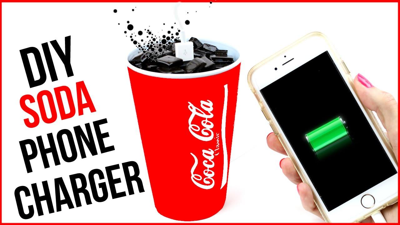 Coca Cola Gifts >> DIY Crafts: Coca Cola Phone Charger - Soda DIYs - Cool DIY ...