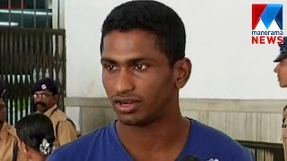 sanjan prakash to america for advance training  manorama news