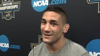 Alec Pantaleo: 'I'm strong, fast, explosive and ready to wrestle freestyle in three weeks.'