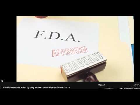 FDA and BIG PHARMA, like BAYER are one and the same? Prescription drugs are dangerous