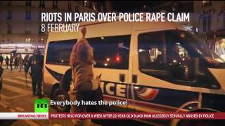 Riots in France - February 2017