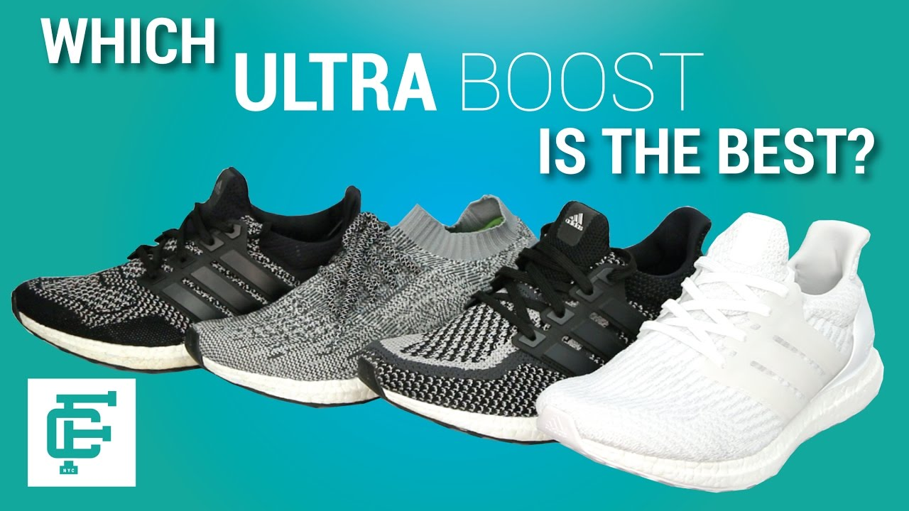 1ad04c509 ADIDAS ULTRA BOOST 1.0 2.0 3.0 AND UNCAGED COMPARISON - YouTube