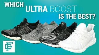 ADIDAS ULTRA BOOST 1.0 2.0 3.0 AND UNCAGED COMPARISON
