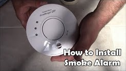 How to install mains powered smoke alarms Wiring Smoke Alarm Fire Angel Pro