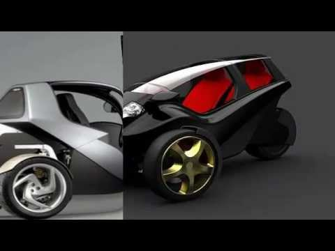 3 wheel cars economical micro cars youtube. Black Bedroom Furniture Sets. Home Design Ideas