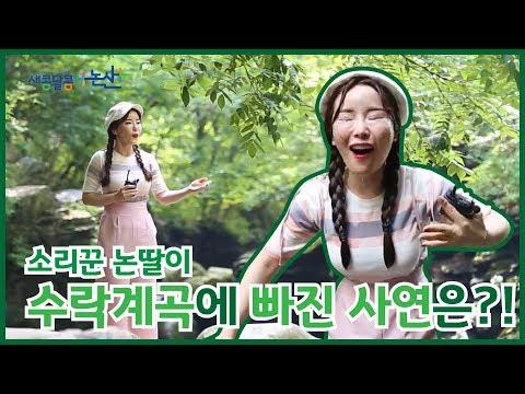강력 추천하는 여름 휴가지 대둔산 수락계곡 / (feat.수박게임)이미지