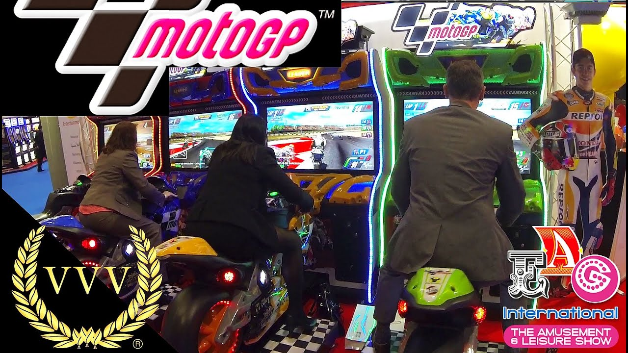 moto gp arcade machine