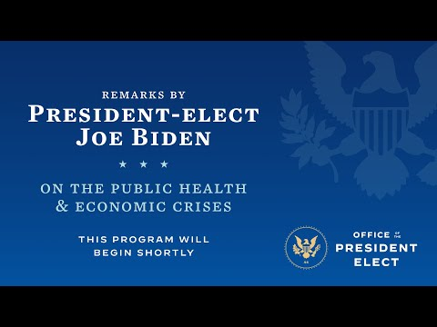 President-elect Biden Announces His American Rescue Plan