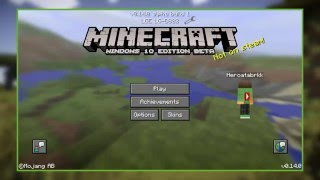 Telefonda Minecraft PE: Windows 10 Edition Oynama