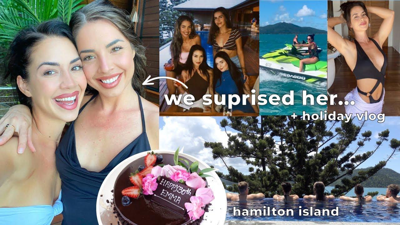 WE SURPRISED HER + HOLIDAY VLOG!