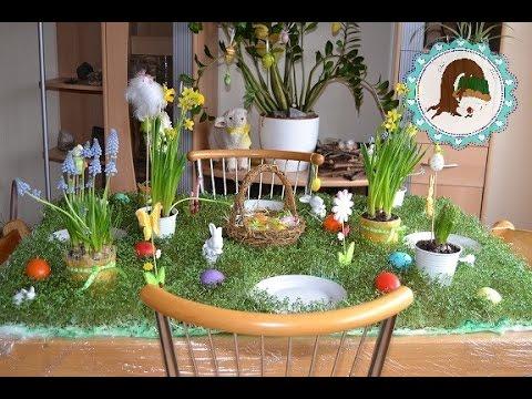 Oster dekoration tischdeko kresse anbauen von purzel - Dekoration mit weckglasern ...