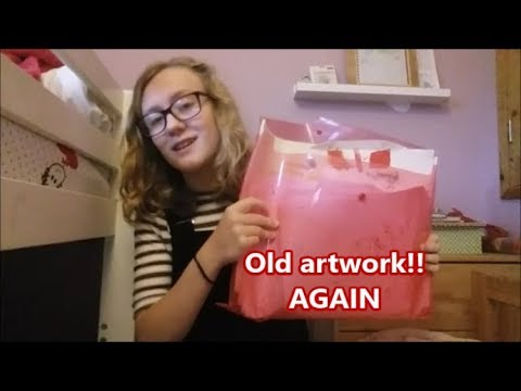 Vlog - Sorting Through Old Artwork (again)