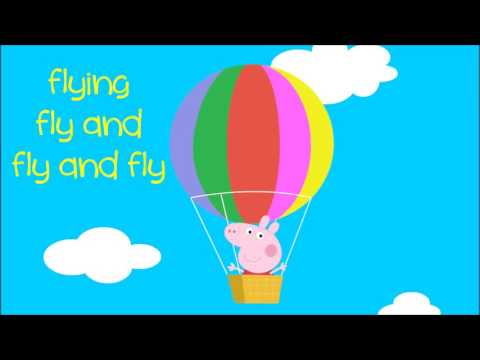 Peppa Pig Song  Big Balloon Song with lyrics