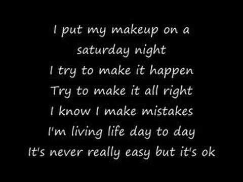 Put your makeup on lyrics