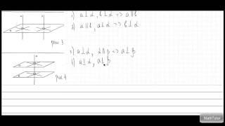 Геометрия 10-11 классы. 7. Перпендикулярность прямой и плоскости