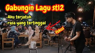 Download lagu MEDLEY ST 12  AKU TERJATUH, RASA YANG TERTINGGAL - ST12 (LIRIK) LIVE AKUSTIK COVER BY TRI SUAKA