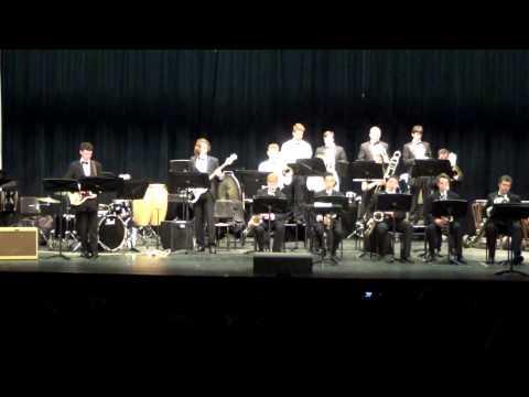 Woodgrove High School Winter Band Concert 2015--Jazz Band