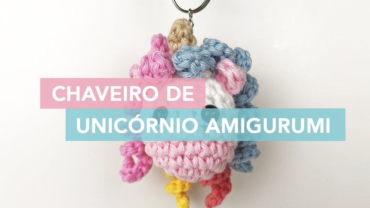 Amigurumi Unicornio Tutorial : Tutorial unicornio amigurumi parte youtube amigurumis y
