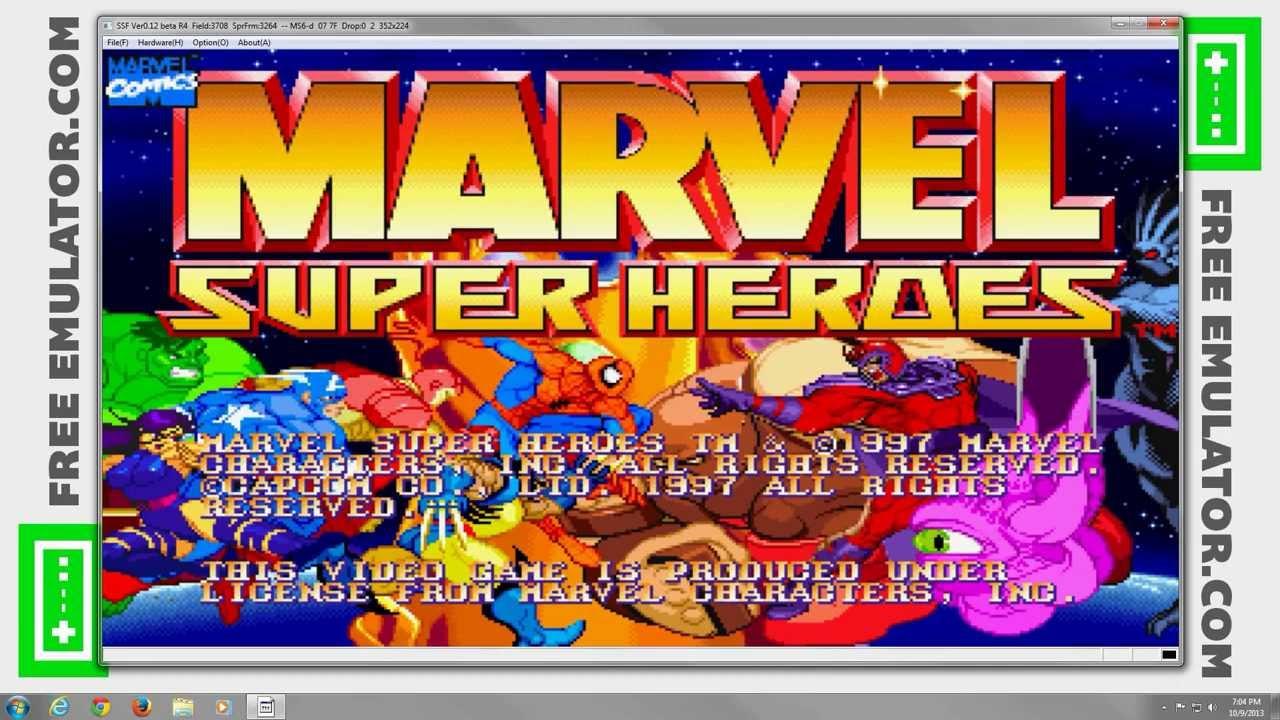 SSF Emulator 0 12 (Beta 4) | Marvel Super Heroes [1080p HD] | Sega Saturn
