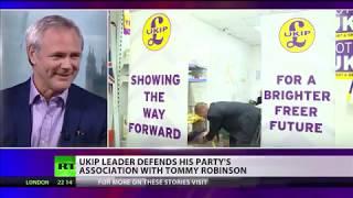 UKIP Leader Richard Braine interview on RT