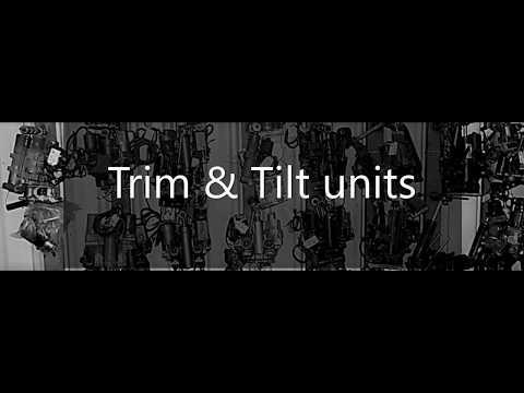 Trim and Tilt Units Large