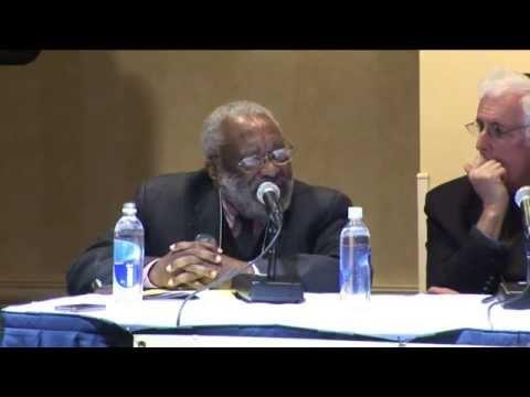 Dr. Vincent Harding, Rabbi Brian Walt and Dorothy Zellner