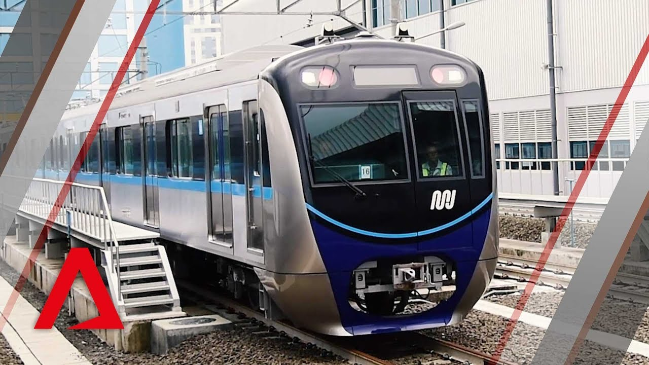 Jakarta S First Mrt Trains To Start Running In March Youtube