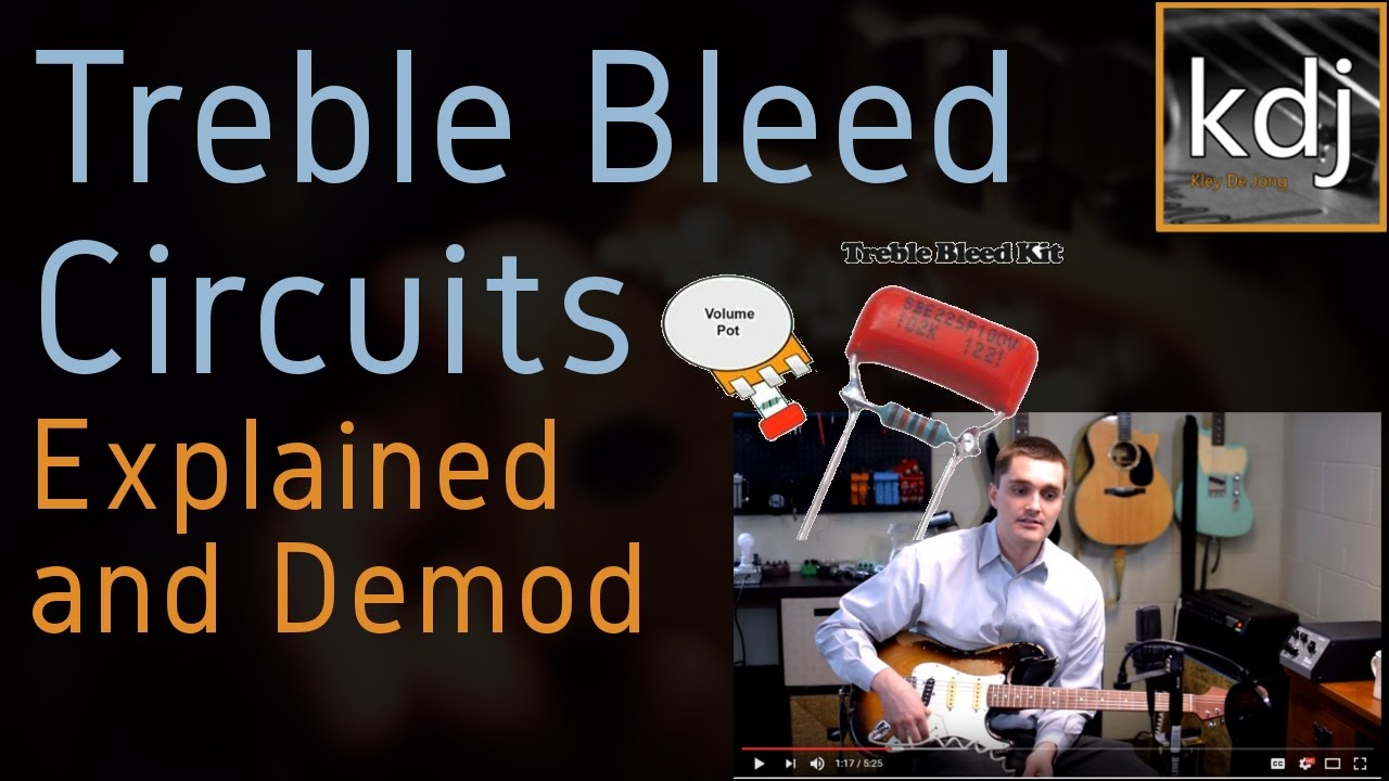 medium resolution of treble bleed circuits explained and demod