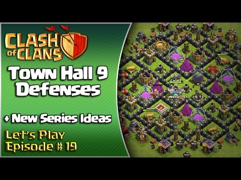 Clash Of Clans - Let's Play Episode #19 - Level 7 Mortars + New Series Ideas